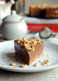 Cheese cake sin horno recetas nutella ideas for 2020 Nigella Lawson, No Bake Desserts, Dessert Recipes, No Bake Nutella Cheesecake, Decadent Cakes, Bark Recipe, Roast Pumpkin, How Sweet Eats, Mini Cakes