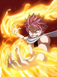 Natsu Dragneel (ナツ・ドラグニル Natsu Doraguniru) is a Fire Dragon Slayer, a member of the Fairy Tail Guild and a member of Team Natsu. He is the main male protagonist of Fairy Tail. Natsu Fairy Tail, Art Fairy Tail, Anime Fairy Tail, Image Fairy Tail, Fairy Tail Guild, Fairy Tail Ships, Fairy Tales, Fairytail, Nalu