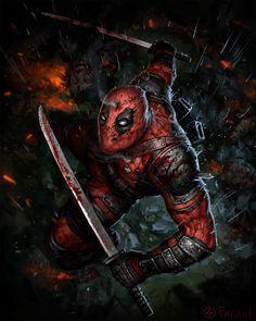 Deadpool Follow me; pinterest.com/MrCafer YouTube @Mr. Cafer