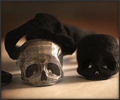 Laser Printed Skull Rings