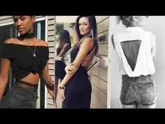 Spring & Summer 2017 Must Know Fashion Hacks  - Clothing, Jewelry & More! - YouTube