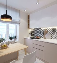 Aquela cozinha para os amantes de branco e madeira na décor. O ambiente ficou lindo e clean. 💗 Projeto @artamtseva_olga #cozinhameunovoapê💡Veja mais décor no nosso Instagram> @meunovoape