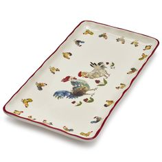 Sur La Table Jacques Pepin Collection Assorted Chickens Kitchen Towel M 70941  28 X 18