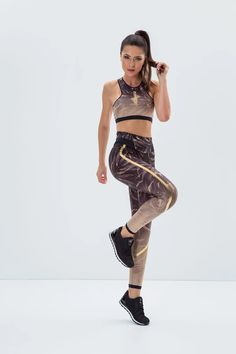 Labellamafia Floral Gold Legging – DXHIVE Vanity A floral and gold exquisite look!   Color: Floral and Gold #dxhivevanity#labellamafia#sportandfashion#pants#sportswear#casualwear#labellamafialeggings#legging#sport#fitness #fitnessgirl#topleggings#florallegging #leggingforgym#leggingforyoga#yoga#gym#sexygirl#gymsportswear#yougawear#floralandgold#