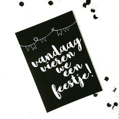 winkeltjevananne.nl #interieur #kaarten #zwartwit