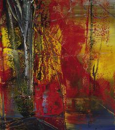 Gerhard Richter, Abstraktes Bild (Abstract Painting), 1986. Oil on canvas. 225cm H x 200cm W. [594-1]