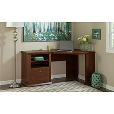 7 best bush furniture yorktown collection images home - Small corner desk with storage ...