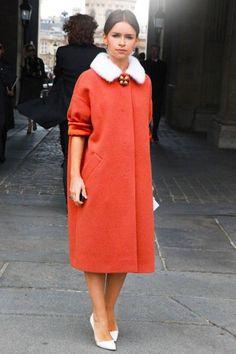 7 fois Miroslava Duma l& cloué avec son style de fourrure - Haute Acorn Miroslava Duma, Street Style Chic, Spring Street Style, Fur Fashion, Winter Fashion, Fashion Looks, Fashion Models, Style Fashion, Fashion Week Paris