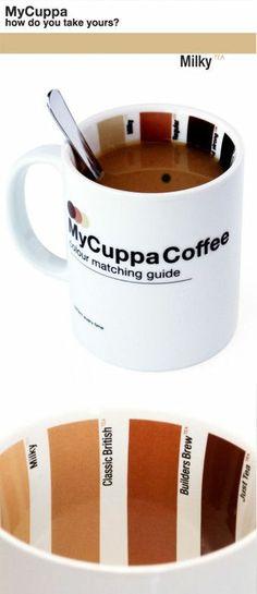 My Cuppa Coffee Color Matching Mug /