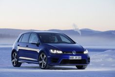 2015 Volkswagen Golf R Preview Drive (On Ice)