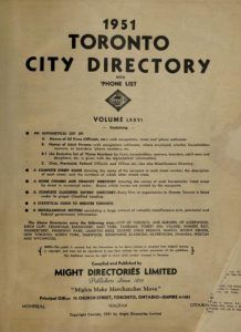 11 more Toronto directories digitized, from Toronto City, Ancestry, Family History, Genealogy, Ontario