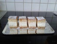 Topfenobersschnitten Krispie Treats, Rice Krispies, Angel Food Cake, Vanilla Cake, Cake Recipes, Food And Drink, Xmas, Cheese, Sweet