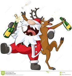 party-christmas-cartoon-celebration-humorous-vector-isolated-35413955.jpg (1300×1366)