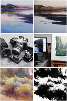 15 Free, DIY Lessons on How to Use Your Camera to Help You Create Beautiful Paintings - Just click through to learn from artist Richard McKinley at ArtistsNetwork.com