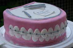 Dentist cake - Torta decorada para dentista - Odontologia