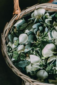 Olive Wedding Confetti and Decoration Ideas -- You don't just have to stick to olive wedding confetti. You could mix it with other herbs and greenery such as mint, basil or eucalyptus. This will also have to give your wedding confetti a delicious fragrance, making that magical confetti moment even more special!