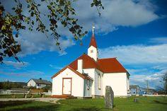 The Karasjok Gamle Kirke of 1807 Karasjok on Rv 92