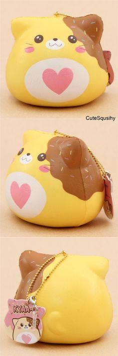 Kawaii chocolate dripping cat squishy!
