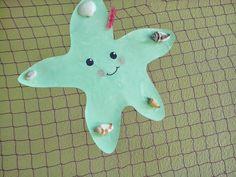 Maro's kindergarten: Starfish with shells