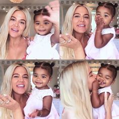 As she goes through her everyday makeup routine (along with baby True!), Khloé Kardashian gets candid about how motherhood has changed her approach to beauty. Familia Kardashian, Khloe Kardashian Style, Koko Kardashian, Estilo Kardashian, Kardashian Family, Kardashian Jenner, Kardashian Kollection, Kendall Jenner, Jenner Kids