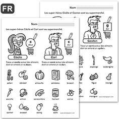Amelie Pepin, French Worksheets, Teaching French, Teaching Kids, France, Nerdy, Alphabet, Homeschool, Language