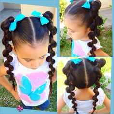 ***Try Hair Trigger Growth Elixir*** ========================= {Grow Lust Worthy Hair FASTER Naturally with Hair Trigger} ========================= Go To: www.HairTriggerr.com =========================       Love These Adorable Long Ponytails!!