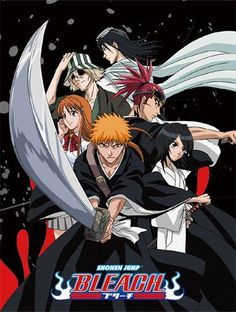 BLEACH GROUP THROW BLANKET BY GREAT EASTERN WITH ICHIGO, RUKIA & ORIHIME Bring Ichigo and the rest of our favorite Bleach anime characters with the Shonen Jump Bleach Ichigo Group throw blanket which