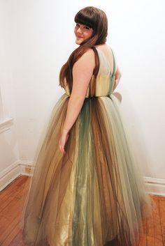 Prom Dress/Fallen Leaf: Side, via Flickr.
