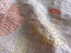 Daily embroidery by Bonnie Sennott