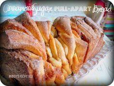Cinnamon & Sugar Pull-Apart Bread   RecipeLion.com