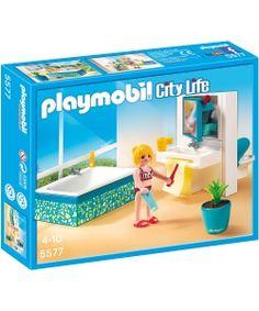 NOVEDAD! cuarto de baño villa de lujo #playmobil! disponible en www.playmyplanet.com
