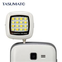Fashion Built-in 16 LED FLASH Lamp for iPhone SE 6 6S Plus Galaxy Note 5 S6 Camera Phone Multiple Photography SYNC fill-in light * View the item in details by clicking the VISIT button