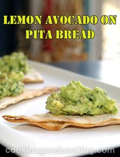 This healthy Lemon Avocado Dip is an easy appetizer recipe to make and has a unique taste. It goes perfect with crunchy pita bread.