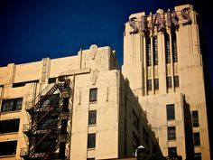 Old Sears store in Boyle Heights -Los Angeles CA- Art Deco design East Los Angeles, Los Angeles Area, Art Nouveau, City Of Angels, Historical Images, California Dreamin', Echo Park, Art Deco Design, Back In The Day