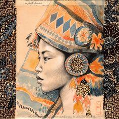 Stéphanie Ledoux - Carnets de voyage - Sumatra, Indonésie