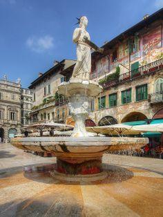 Verona, Italy - Piazza delle Erbe