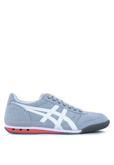 Onitsuka Tiger grey and white Ultimate 81 Sneakers ON625SH55PVOPH_1
