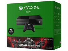Console Xbox One 500GB 1 Controle Microsoft - Download Gears of War: Ultimate Edition com as melhores condições você encontra no Magazine Edmilson07. Confira!