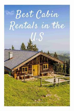 Looking for great cabin rentals in the US? Here are our recommendations to make your vacation the best you've ever had. #cabin #USAtravel #travel #rental #cabinrental #familyvacation #vacation #staycation #US #cabins #logcabin #mountaincabin #beststays #holiday #familytrip #vacationhomes #travelideas #travelinspiration Yellowstone Cabins, Travel Usa, Travel Tips, Little Log Cabin, Outdoor Centre, Alaska Adventures, Forest Cabin, Family Getaways, Stay The Night