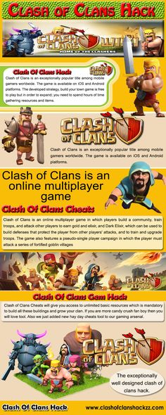 Browse this site http://www.clashofclanshackzz.com/ for more information on Clash Of Clans Hack. Use our clash of clans hack as well as make the game your servant. With Clash Of Clans Cheats you will have a method to gain unlimited amount of resources in addition to numerous products. Free Gold hack tablature is 3rd tab of the Clash Of Clans Hack Tool. Therefore, visit our website at as well as download our Clash Of Clans Cheats instantly. Follow Us: http://clash-of-clanscheat.tumblr.com