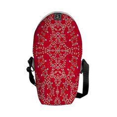Red Lights Mini Messenger Bag