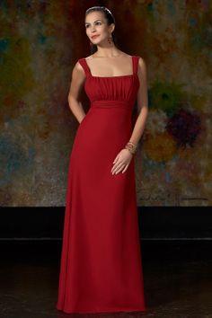 floor length bridesmaid gowns