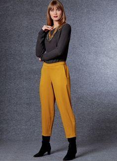 V1730 | Misses' Skirt & Pants | Vogue Patterns