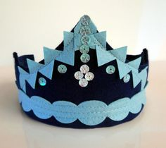 Princess Crown Handmade Felt Crown Girl Party Crown Felt Crown, Handmade Felt, Princess, Trending Outfits, Unique Jewelry, Party, Vintage, Etsy, Fashion