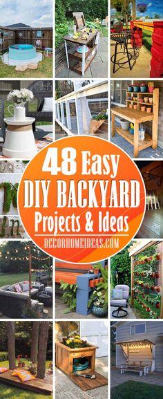 Small Backyard Design, Small Backyard Landscaping, Backyard Fences, Backyard Ideas, Pool Ideas, Patio Ideas, Diy Garden Projects, Outdoor Projects, Outdoor Ideas