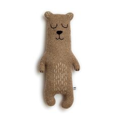 Brian the Bear Lambswool Plush Toy - Made to order by saracarr on Etsy. Best bear ever! Want!