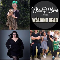 We love The Walking Dead & the ladies of TWD love wearing Trashy Diva! @meyrickmurphy @anniemoho @kishserratos #trashydivabiancadress #trashydivaleopard #trashydivagingham #trashydivahaltertietop #trashydivagatheredminiskirt