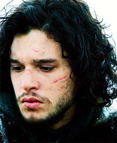Kit Harington as Jon Snow - Game of Thrones. Can the new season start, like, tonight??