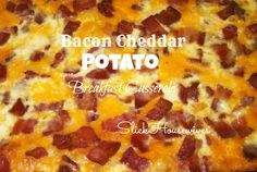 Bacon Cheddar Potato Breakfast Casserole: Breakfast Casserole Recipes