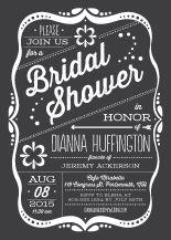 Wedding Shower Invitation - framed love